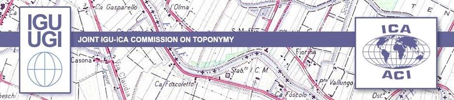IGU Commissione Toponomastica